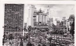 SAO PAULO.  PANORAMA. VISTA DO ANHANGABAU. COLOMBO FOTO POSTAL. CIRCULEE TO OLIVOS BS AS. BRASIL-BLEUP - São Paulo
