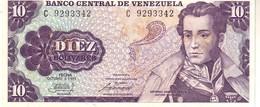 Venezuela P.60  10  Bolivares 1981 Unc - Venezuela