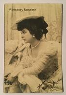 MERCEDES BRIGNONE ATTRICE 1903 VIAGGIATA FP - Attori