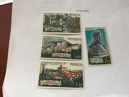 Monaco Monuments Mnh 1971 - Monaco