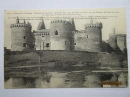 CPA 56 SARZEAU  - Presqu Ile De Rhuys Environs De Vannes - Château De SUCINIO Connstruit Vers 1250 Par Jean Le Roux - Sarzeau