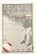 19809 - Carte Etudiant Zofingue Fête Centrale 1918 Par Dandin - AG Argovie