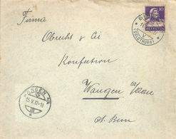Brief  Biberist - Wangen An Der Aare           1932 - Briefe U. Dokumente