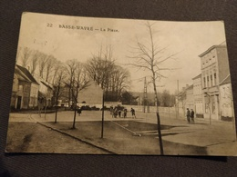 CP De 1921, Basse-Wavre, La Place. N°22. Ed Valentin - Wavre