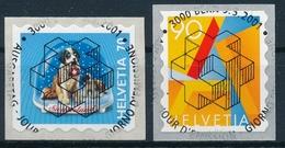 1025-1026 Serie Mit Ersttag - Vollstempel & Gummi - Switzerland