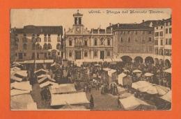 Udine  -  Piazza Del Mercato Nuovo - Friuli-Venezia Giulia - ITALIA - Udine