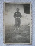 Photo D'un Soldat Français 39/45 Maquisard ? Chantier De Jeunesse ? FFI ? - Guerre, Militaire