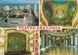 MANAUS. TEATRO AMAZONAS. MULTI VISTA VIEW VUE. MERCATOR. VOYAGEE. BRASIL.-BLEUP - Manaus