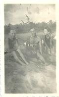 Photo Afrique Plage Novembre 1942 Photographe Photographié - Afrique