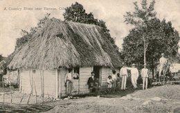(67) CPA  Cuba A Country Home Near Havana Cuba (Bon Etat  ) - Cuba
