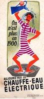 ON N'EST PLUS EN 1900 - Electricity & Gas