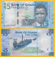 Ghana 5 Cedis P-new 2017 (2018) UNC - Ghana