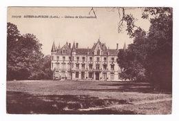 CPA Authon-du-Perche (Eure-et-loir), Château De Charbonnières. A Voyagé - France