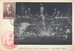 BELGIQUE CM SOUVENIR FEERIE LUMINEUSE - Maximumkarten (MC)