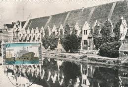 BELGIQUE CM  GENT CANAL MARITIM - Cartes-maximum (CM)