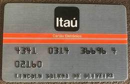 BRAZIL BANK CARD ITAU - ELECTRONIC CARD - Credit Cards (Exp. Date Min. 10 Years)