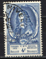 BELGIO - 1952 - CONGRESSO DELL'UPU A BRUXELLES - USATO - Used Stamps