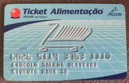 BRAZIL FOOD CARD - MAUA CEMENT (CIMENTO MAUA) - Credit Cards (Exp. Date Min. 10 Years)