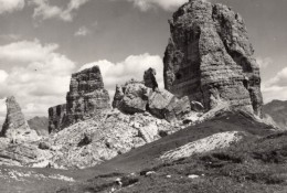 Italie Cortina D'Ampezzo Et Environs Set De 10 Petites Photos Touristiques Ghedina - Orte