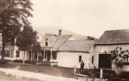 Vermont Plymouth Notch Lieu De L'Inauguration De President Coolidge Ancienne Carte Photo 1924 - United States