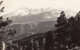 Colorado Pikes Peak Et Ute Pass Ancienne Carte Photo Sanborn 1940 ? - Etats-Unis