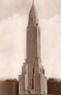 USA New York Chrysler Building Ancienne Carte Photo 1940 ? - Chrysler Building