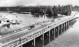 USA Wyoming Yellowstone River Pont Des Pecheurs Ancienne Carte Photo Haynes 1940 - Yellowstone