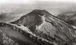 USA Wyoming Yellowstone National Park Depuis Le Mont Washburn Ancienne Carte Photo Haynes 1940 - Yellowstone