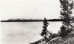 USA Wyoming Yellowstone Lake Mont Sheridan Ancienne Carte Photo Haynes 1940 ? - Yellowstone