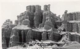 South Dakota Badlands National Park Castle Trail Carte Photo Canedy's Camera Shop 1940 - United States
