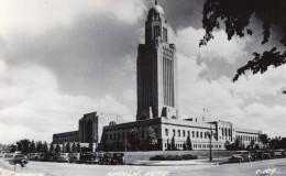 Nebraska Lincoln Capitol Capitole Ancienne Carte Photo LL Cook EKC 1940 - Lincoln