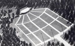 Nebraska Lincoln Pinewood Bowl Theatre Ancienne Carte Photo LL Cook EKC 1940 - Lincoln