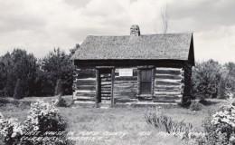 Nebraska Columbus Premiere Maison De Platte County Ancienne Carte Photo LL Cook EKC 1940 - Columbus
