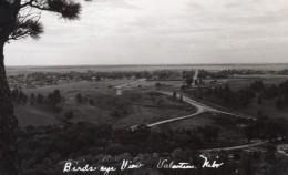 Nebraska Valentine Vue Generale Panorama Ancienne Carte Photo 1940 - United States