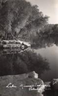 Nebraska Valentine Lake Minnechaduza Creek Ancienne Carte Photo 1940 - United States