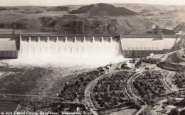 Washington Grand Coulee Dam Barrage Ancienne Carte Photo Sawyers 1940's - United States
