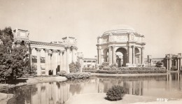 San Francisco Palais Des Beaux Arts Architecture Ancienne Carte Photo 1940 - San Francisco