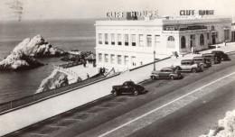 San Francisco Cliff House Et Seal Rocks Automobiles Ancienne Carte Photo 1946 - San Francisco
