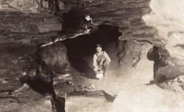 Missouri Hannibal Mark Twain Cave Jesse James Hideout Carte Photo 1939 - United States