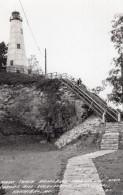 Missouri Hannibal Mark Twain Memorial Le Phare Ancienne Carte Photo 1949 - Etats-Unis