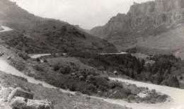 Wyoming Ten Sleep Canyon Horseshoe Curves Route De Montagne Ancienne Carte Photo Sanborn 1940 - United States