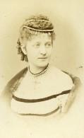 Autriche Wien Vienne Femme Mode Ancienne Photo CDV Rabending 1870 - Photographs