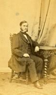 Allemagne Berlin Homme Mode Ancienne Photo CDV Lutze 1870 - Photographs