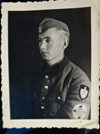 Photo ORIGINALE WW2 WWII : Soldat Du RAD 71/2 - Guerra, Militari