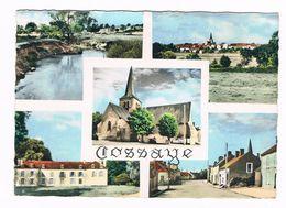 COSSAYE  58  Multivues Avec 5 Photos En 1964 - Otros Municipios