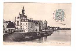 91 Corbeil Le Nouvel Hotel De Ville Et La Seine - Corbeil Essonnes