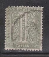 ITALY Scott # 24 Used - 1861-78 Vittorio Emanuele II
