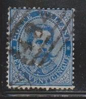 ITALY Scott # 48 Used - 1861-78 Vittorio Emanuele II