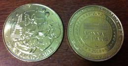 77 SEINE ET MARNE DISNEYLAND PARIS N°43 MICKEY MINNIE DISNEY MÉDAILLE MONNAIE DE PARIS 2018 JETON TOKEN MEDALS COINS - Monnaie De Paris