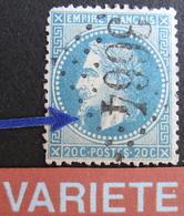 R1752/381 - NAPOLEON III Lauré N°29B - GC 3664 : ST HONORE LES BAINS (Nièvre) INDICE 7 - BELLE VARIETE ☛ LONGUE BARBE - 1863-1870 Napoleon III With Laurels